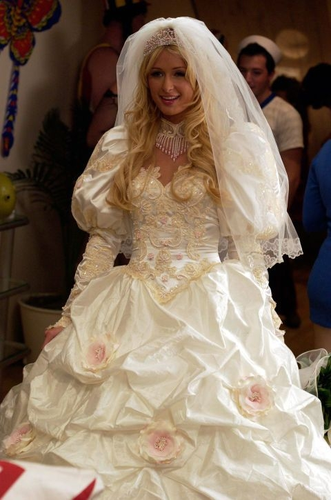 10 ugliest wedding dresses in tv and movies Ugliest Wedding Dresses