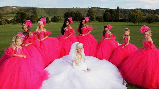 11 tackiest dresses from my big fat gypsy wedding realclear Gipsy Wedding Dresses