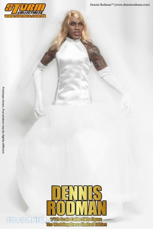 16 dennis rodman dennis rodman wedding special edition Dennis Rodman In A Wedding Dress