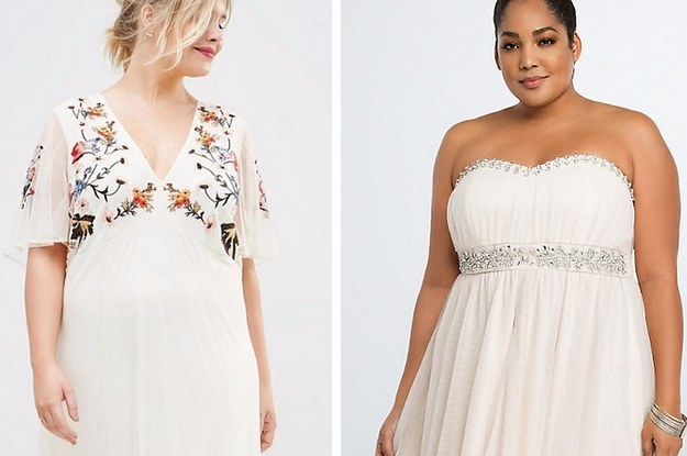 17 alternative plus size wedding dresses you can actually Plus Size Non Traditional Wedding Dresses