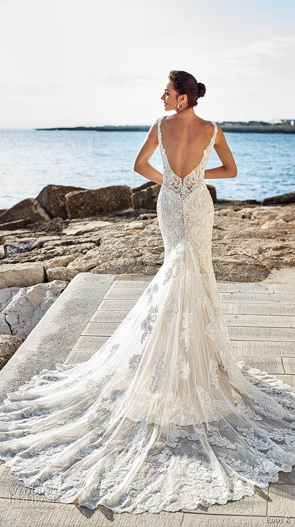 20 stunning open low back wedding dresses for 2017 brides Wedding Dresses With Dramatic Backs