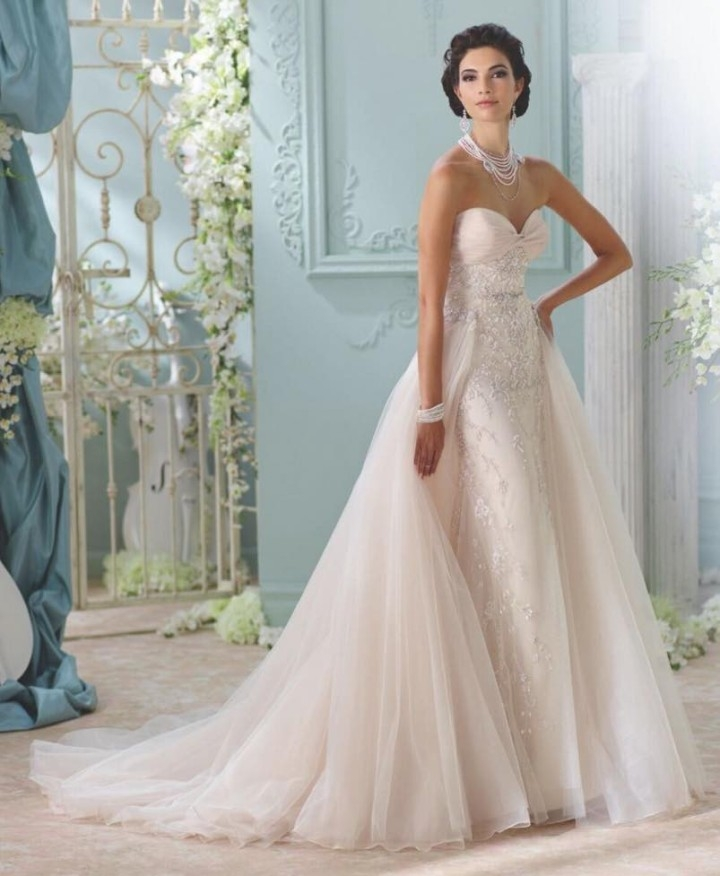 2016 david tutera for mon cheri wedding dresses modwedding David Tutera Disney Wedding Dresses