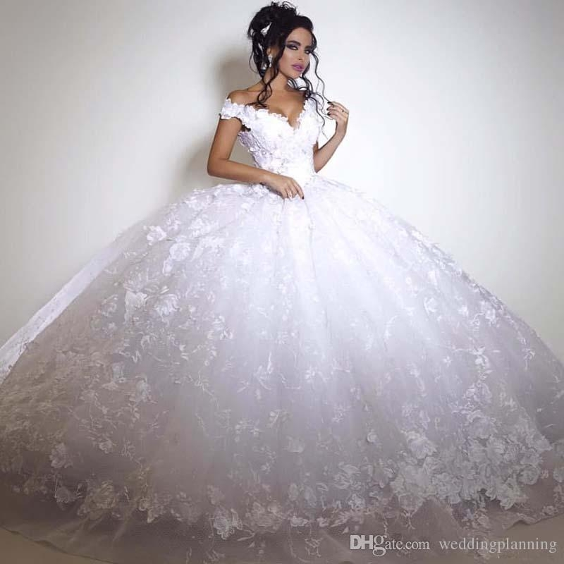 2017 custom made wedding dresses dubai italy pictures ball gown bridal tulle lace beadings gorgeous high quality princess wedding dress cheap ball Dhgate.Com Wedding Dresses