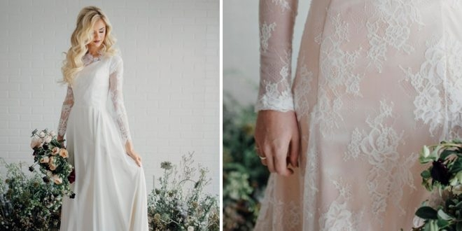 25 modest wedding dresses with long sleeves lds daily Lds Modest Wedding Dresses