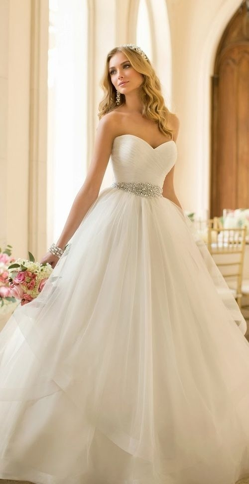 38 absolutely stunning wedding dresses with fluffy skirt Wedding Dresses Poofy