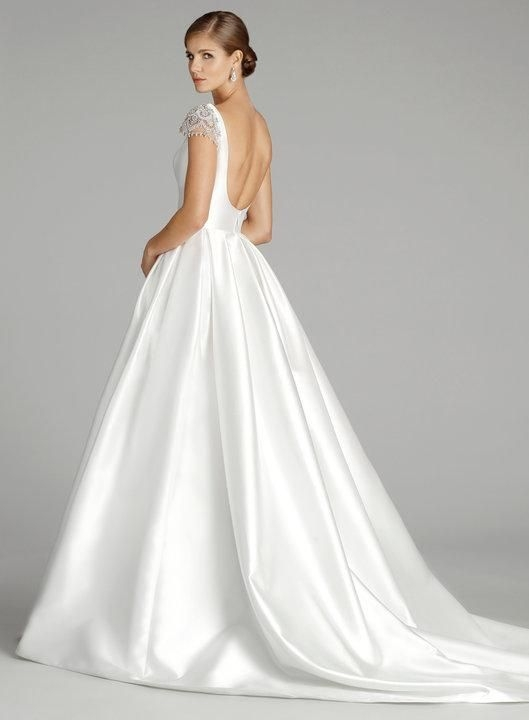 alvina valenta 9658 is a sophisticated silk mikado ball gown Alvina Valenta Wedding Dresses