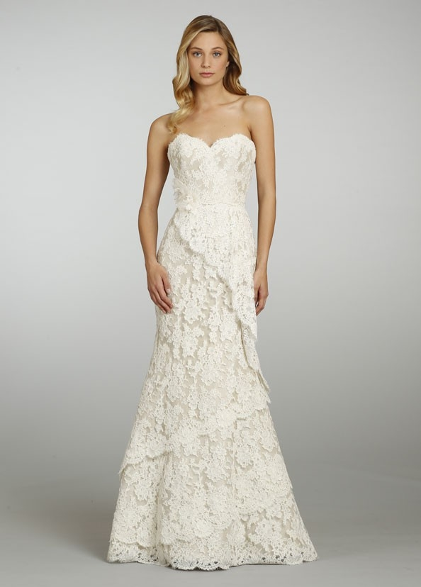 alvina valenta new size 6 Alvina Valenta Wedding Dress