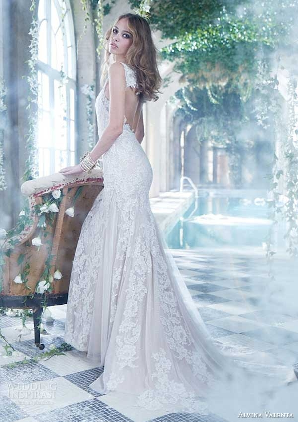 alvina valenta spring 2014 wedding dresses wedding inspirasi Alvina Valenta Wedding Dress