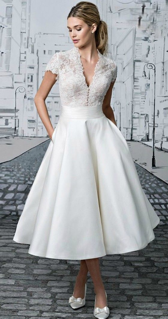 amazing short wedding dress for vow renewal Vow Renewal Wedding Dresses