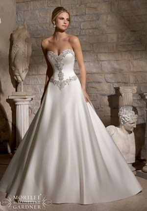basque empire dropped natural and other wedding dress Basque Waist Wedding Dress