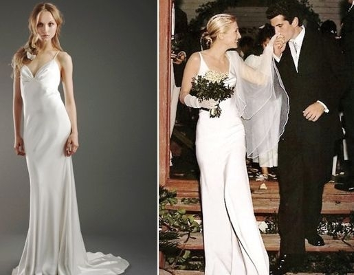 bessette wedding dress fashion dresses Carolyn Bessette Wedding Dress