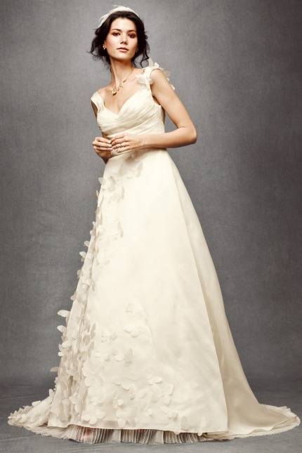 bhldn bridal collection antropologie belle the magazine Anthro Wedding Dresses