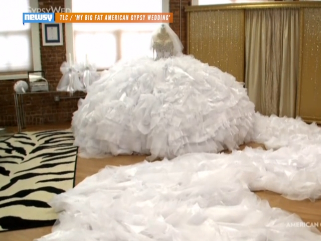 biggest gypsy wedding dress fashion dresses Biggest Gypsy Wedding Dress