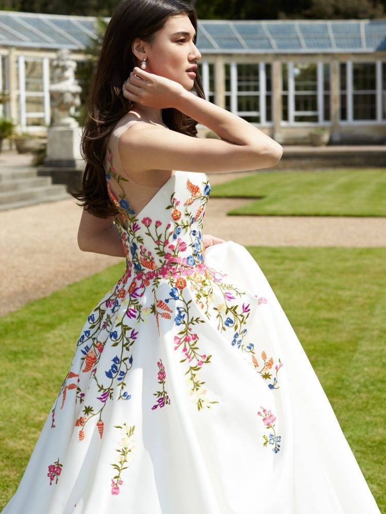 blossom sassi holford london exclusive weddingdress Embroidered Mexican Wedding Dress