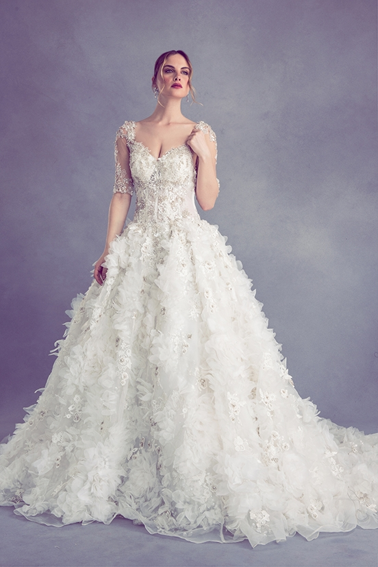 bridal ysamakino Ysa Makino Wedding Dress