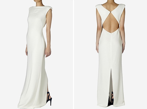 carla zampatti diamond cut out dress carla zampatti Carla Zampatti Wedding Dress