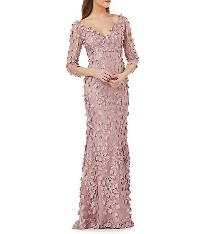 carmen marc valvo pink the wedding shop bridal gowns Dillards Dresses For Wedding