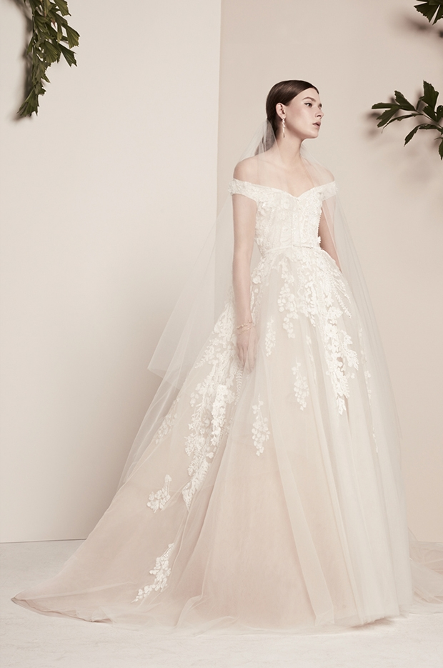 cherry blossom bride elie saab wedding dresses spring Elie Saab Wedding Dress