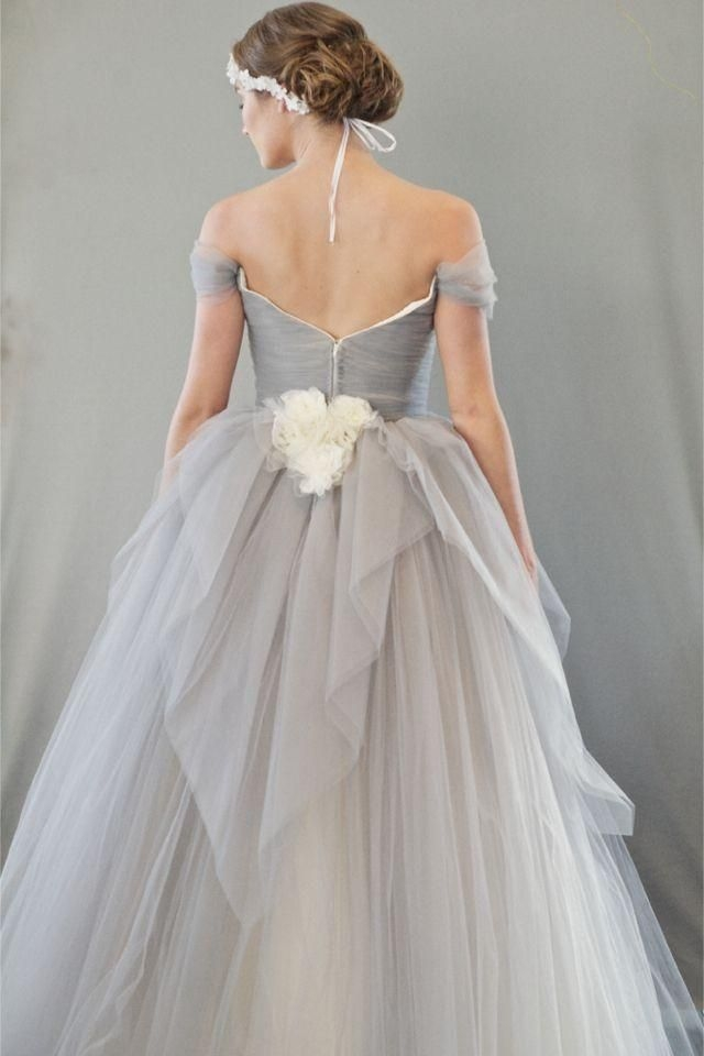 chic vintage dove grey wedding dress beautiful dresses Dove Grey Wedding Dress