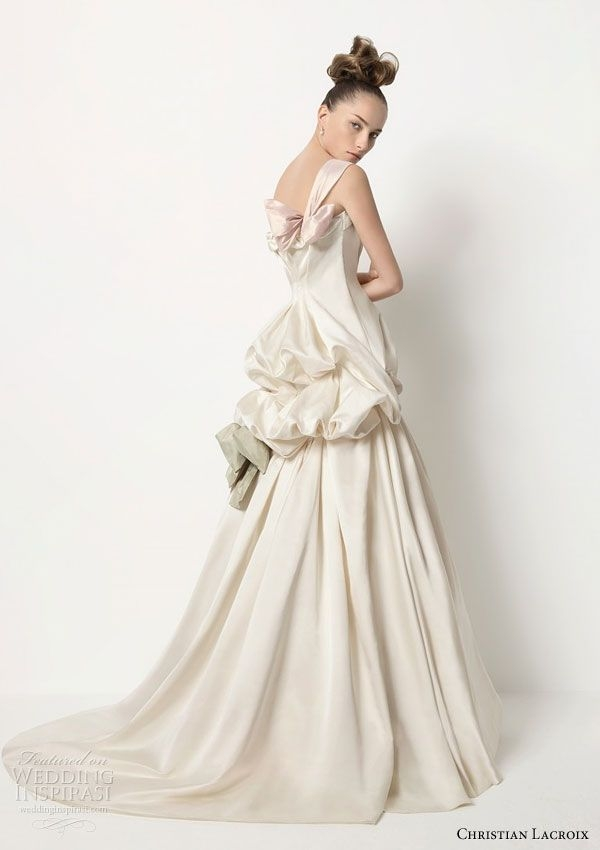 christian lacroix marie 2011 collection for rosa clar Christian Lacroix Wedding Dresses