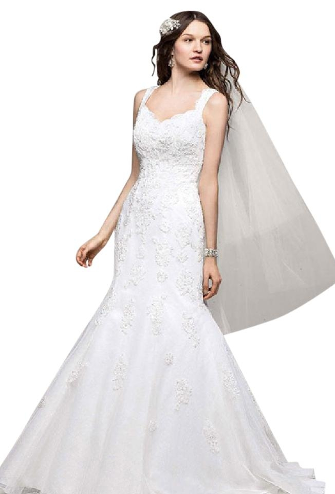 davids bridal off white lace v3643 destination wedding dress size 10 m 81 off retail Davids Bridal Pretty Wedding Dresses