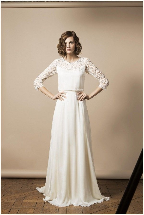 delphine manivet 2014 collection french wedding dresses Delphine Manivet Wedding Dress
