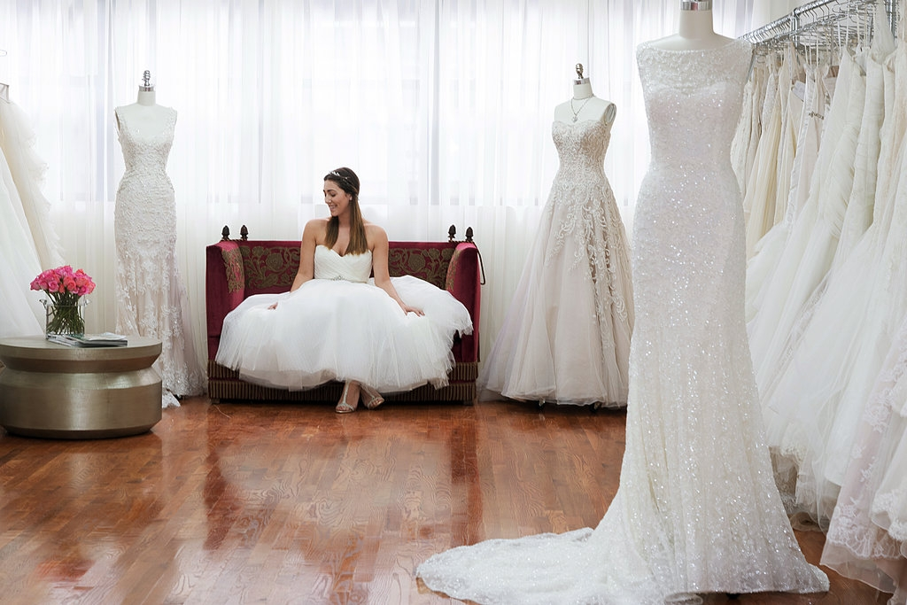 designer gowns without the wait or drama the new york times Wedding Dress Alterations Nyc