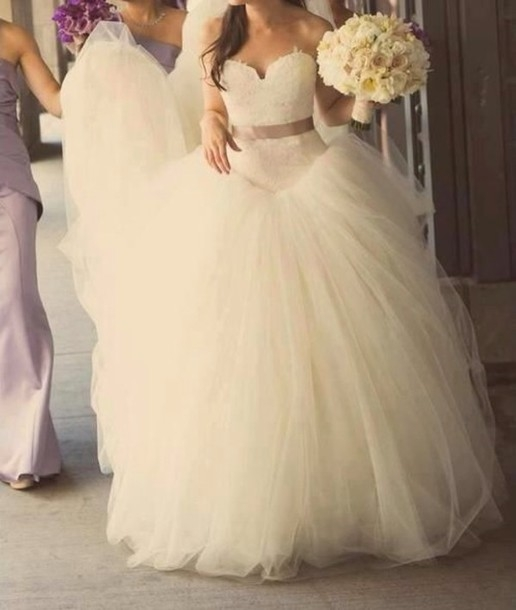 dress 169 at aliexpress wheretoget Poofy Wedding Dresses