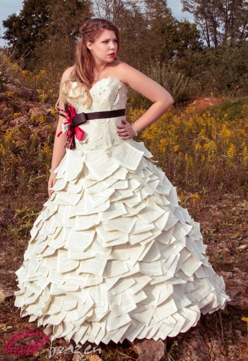 duct tape wedding dress kate couldnt recall which books Duct Tape Wedding Dress