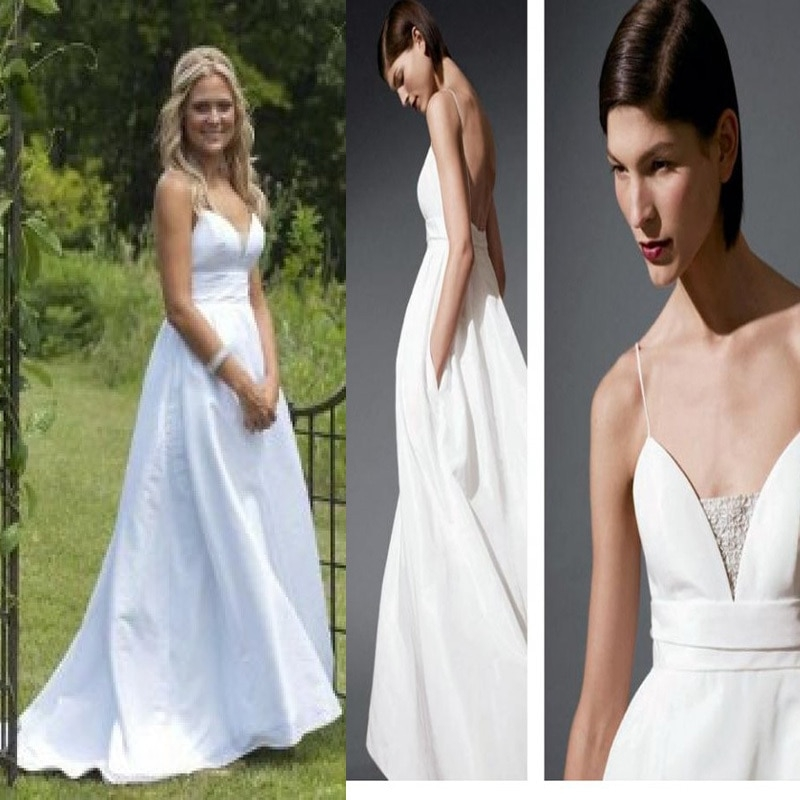 elegant sexy inspired tess wedding dress in movie 27 dresses 27 Dresses Tess Wedding Dress