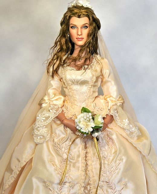elizabeth swan barbie wedding dress barbie bridal bride Elizabeth Swann Wedding Dress