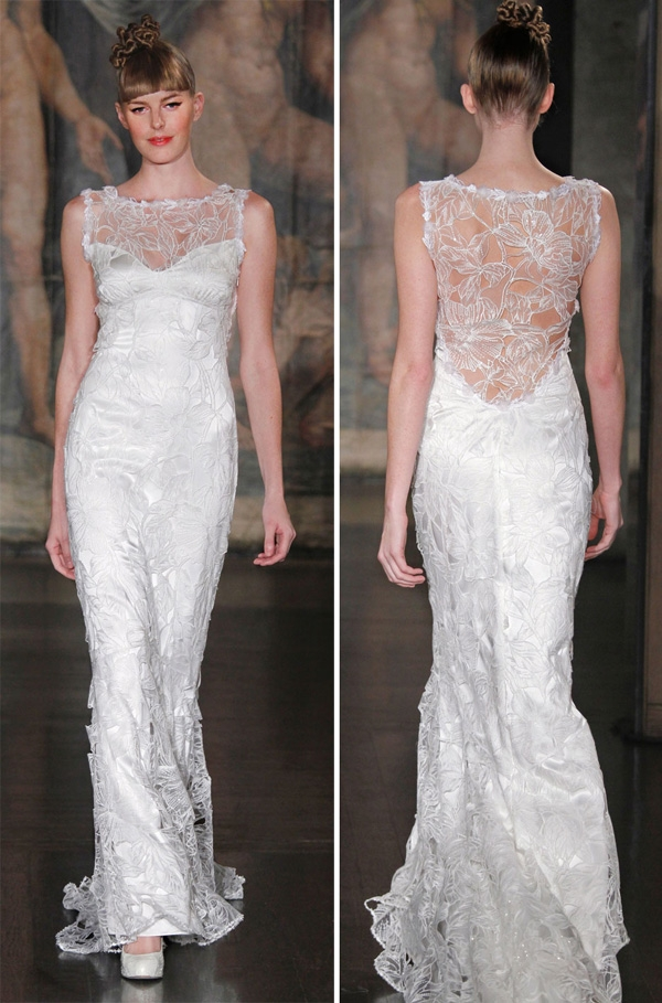 facebook founders bride shines in claire pettibone wedding gown Claire Pettibone Wedding Dress s
