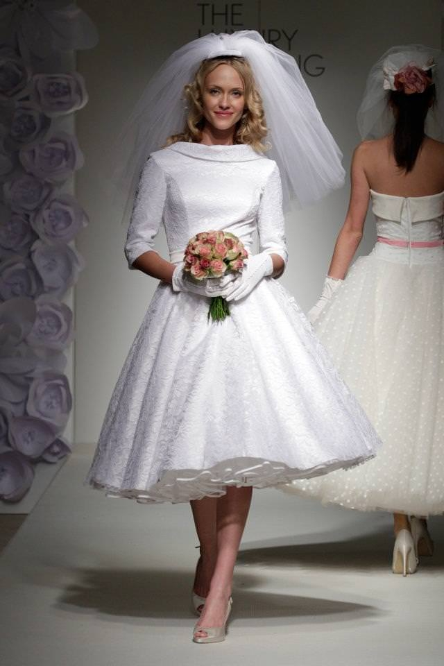 fifties style wedding dress luxury brides Fifties Style Wedding Dress