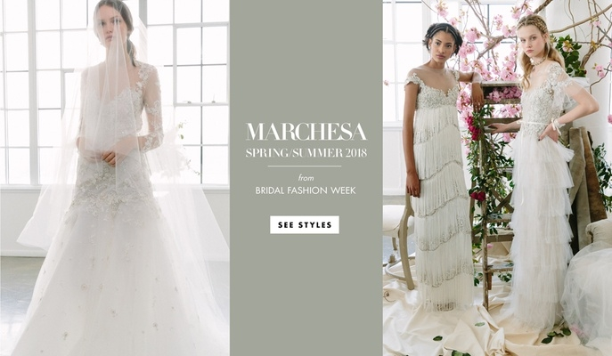 garden wedding dresses from marchesa and marchesa notte Marchesa Wedding Dress s