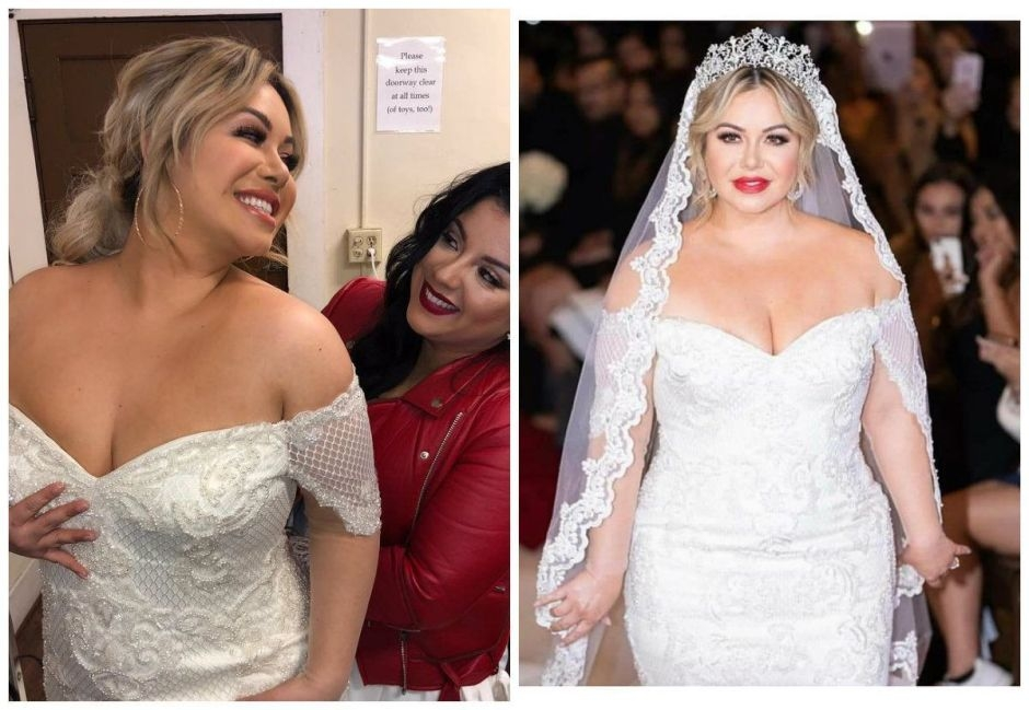 girlfriend without class not even meghan and harry Jenni Rivera Wedding Dress