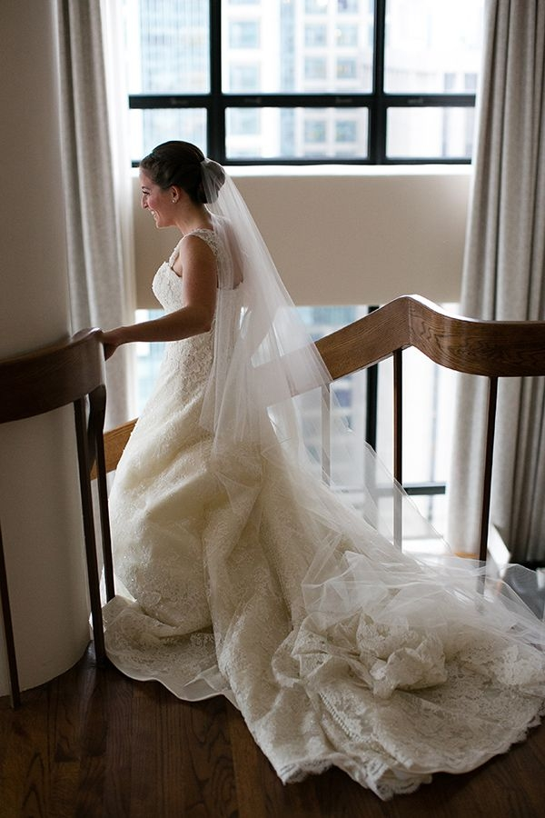 glamorous chicago wedding with hmr designs couture bridal Wedding Dress Consignment Chicago