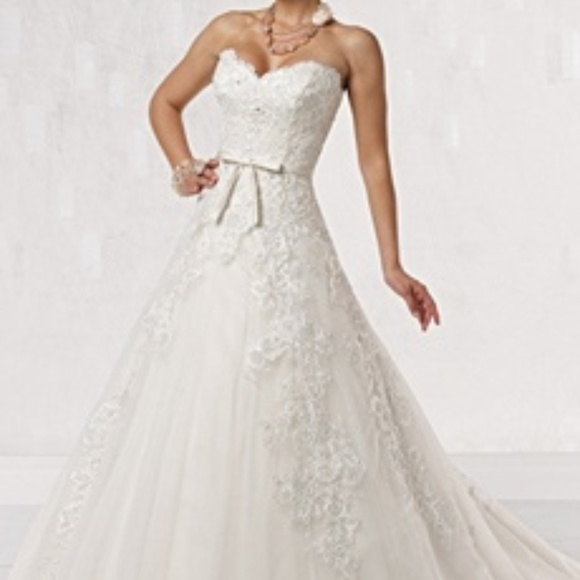 gorgeous wedding dress Kathy Ireland Wedding Dresses