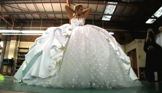 gypsy wedding dresses photos video of impressively big Gypsy Wedding Dress Pretty