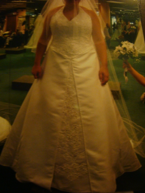 heather my secret wedding dress deal the budget savvy bride Wedding Dresses Craigslist
