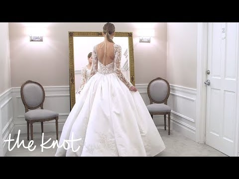 how to bustle a wedding dress youtube Bustling A Wedding Dress