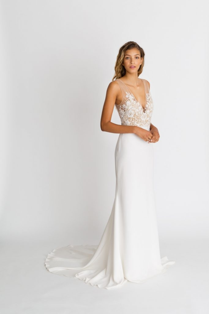 how to choose the right wedding dress to flatter your shape Wedding Dresses For Broad Shoulders