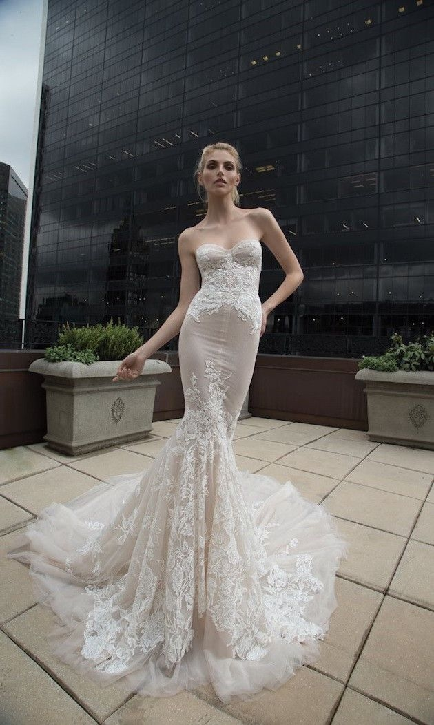 inbal dror wedding dress collection 2016 elegant wedding Inbal Dror Wedding Dress
