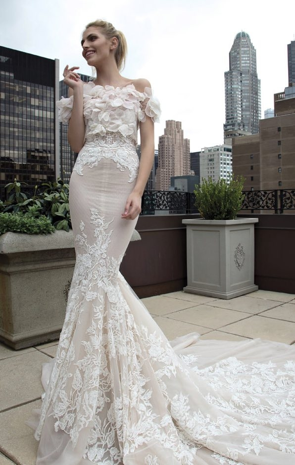 inbal dror wedding dresses with a touch of old hollywood glamour Inbal Dror Wedding Dress