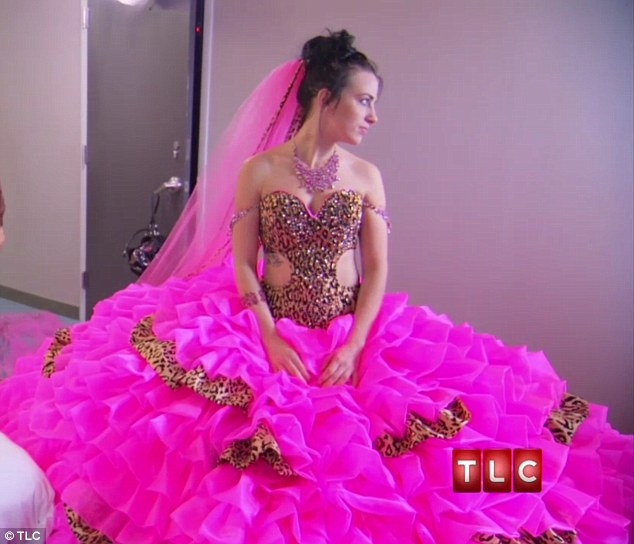 is this the most outrageous wedding dress ever bride on Most Outrageous Wedding Dresses
