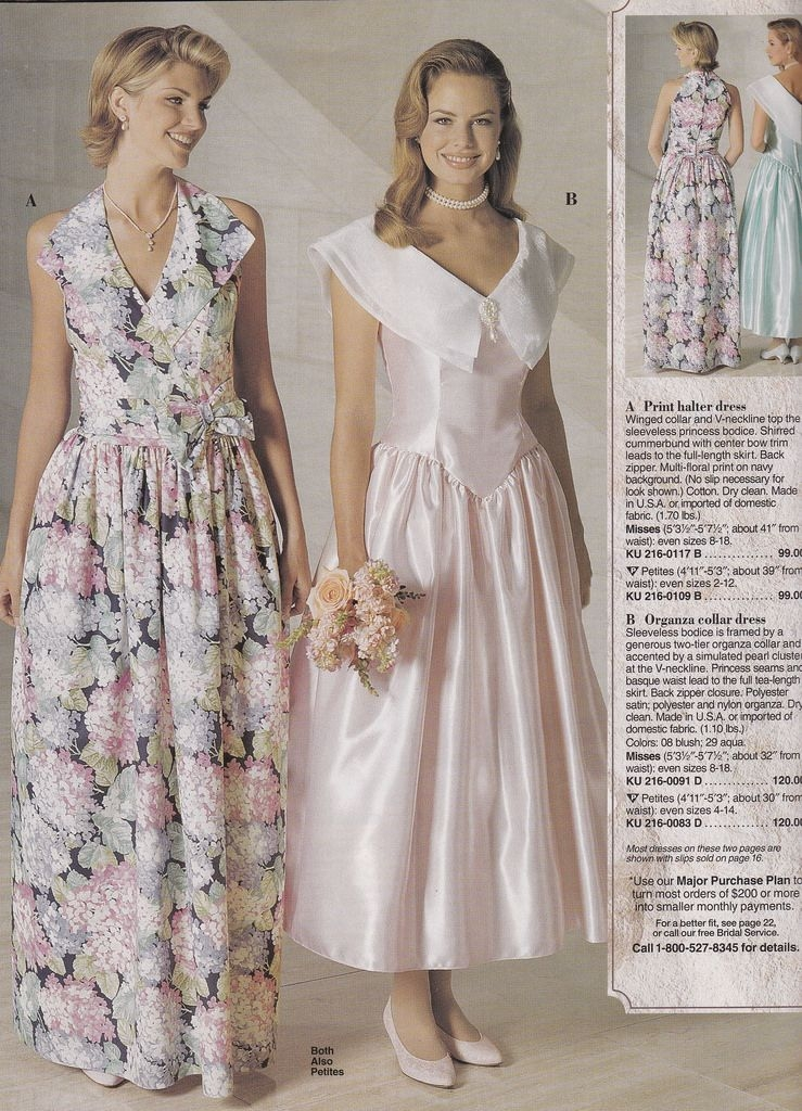 jcpenney catalogs 1985 in 2019 80s prom dress costume Jcpenney Bridesmaid Wedding Dresses