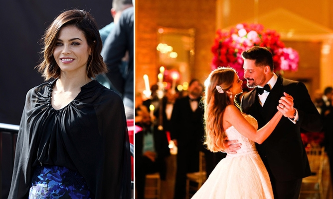 jenna dewan tatum reveals joe manganiellos magic mike Jenna Dewan Wedding Dress