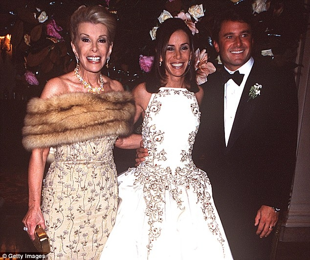 joan rivers daughter melissa she was rude vain Melissa Rivers Wedding Dress