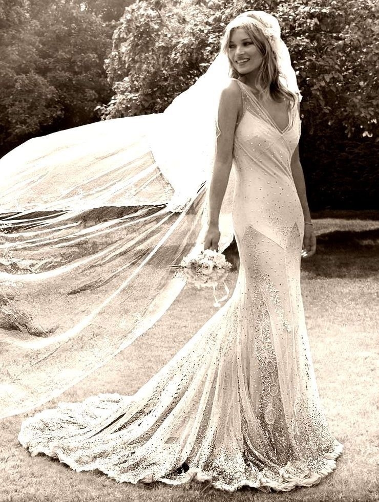 kate moss bias cut wedding dress cicily bridal Bias Cut Wedding Dress