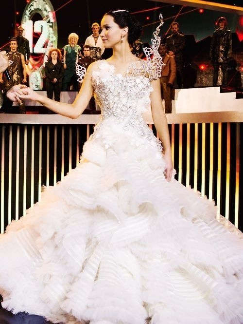 katniss wedding dress luxury brides Katniss Wedding Dress