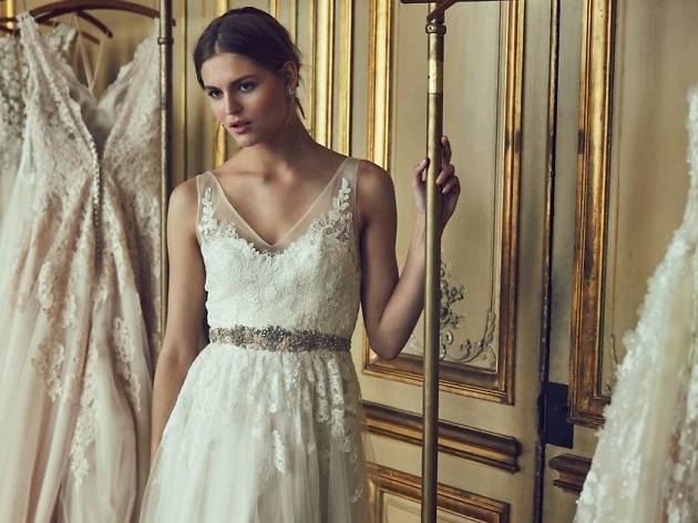 la bridal shops with the best selection of wedding dresses Anthro Wedding Dresses